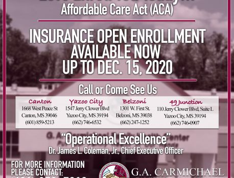 Open Enrollment for ACA